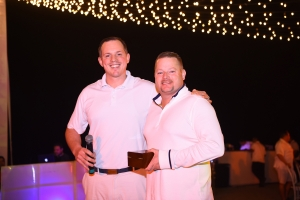 Don Elliott & Hytorc CEO in Puerto Vallarta receiving special recognition 2018